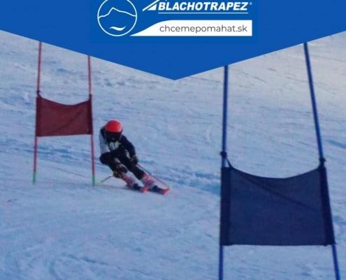 lyžiar  preteky  obrovský slalom