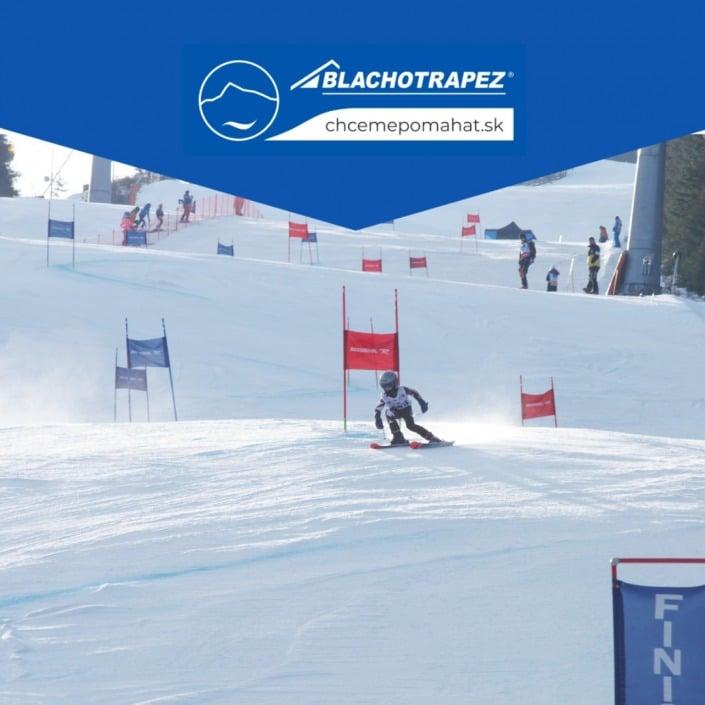 lyžiar| preteky| obrovský slalom| jasná