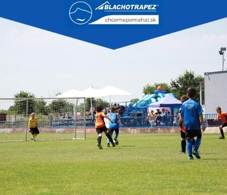 Blachotrapez_cup_Reca_2021| deti hrajú futbal| turnaj detí| chcemepomahat.sk